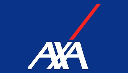 axa seguros logotipo