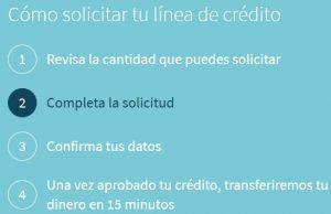 En Creditea puedes conseguir un prestamo siguiendo unos sencillos pasos