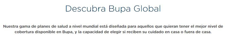 Bupa ofrece muchos paquetes de viaje con excelente precio
