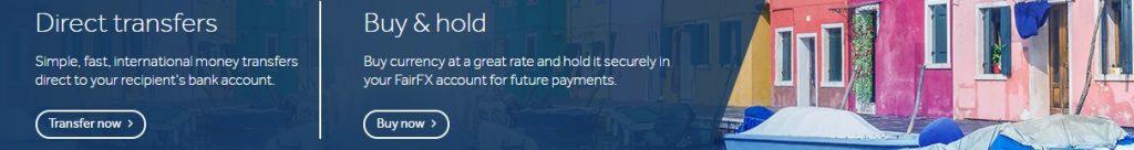 FairFX es una empresa que se encarga de la transferencia de divisas