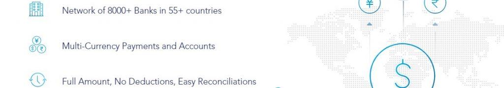 Con InstaReM puedes realizar transferencias a 4 continentes