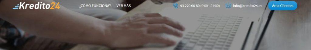 Kredito24 es un portal web para solicitar un préstamo