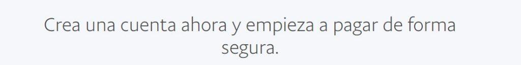 Para realizar un pago seguro con PayPal es extremadamente sencillo