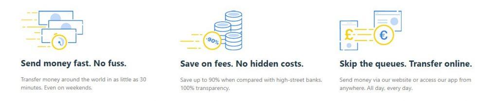 Las tarifas de transferencias que realices con Transfer Go son unas de las más económicas