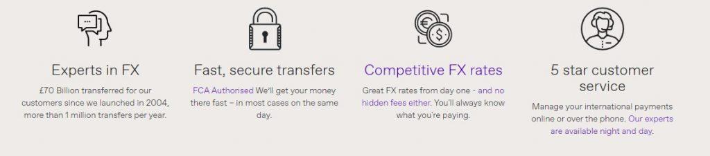 Durante el proceso de la transferencia vas a poder verificarlo en línea