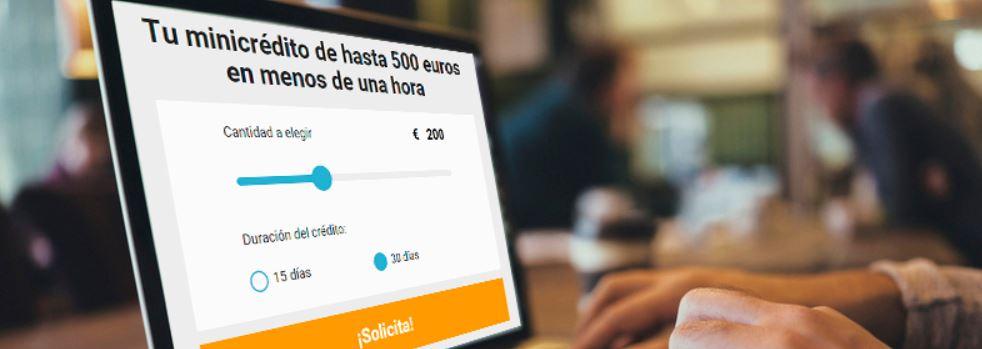 Puedes pedir tu préstamo online en esta empresa en tan solo minutos.