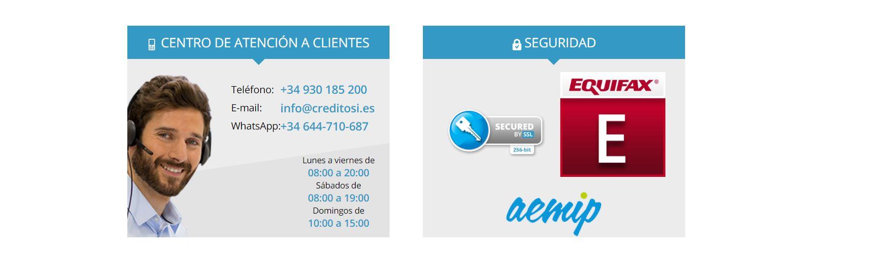 Creditosi es una entidad de créditos online.
