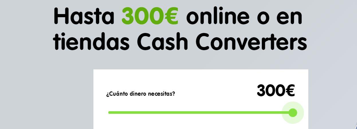 podrás pedir hasta 300 euros sin necesidad de pagar comisión.