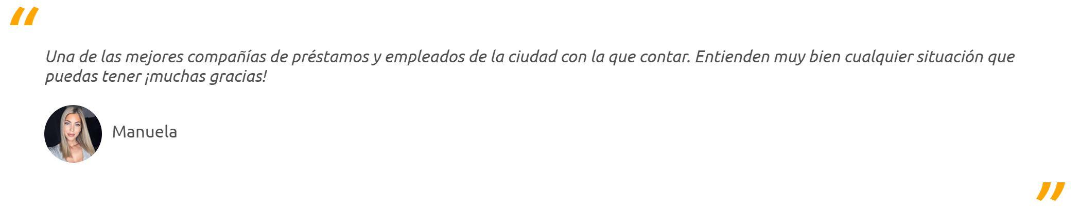 Holadinero cosecha excelentes opiniones de sus usuarios.