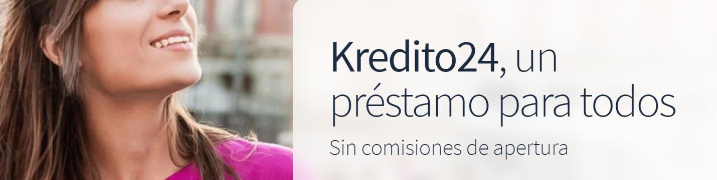 Kredito24 es un proveedor de préstamos con excelentes opiniones.