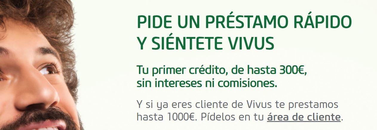 PEdir un préstamo en VIvus es fácil y rápido.