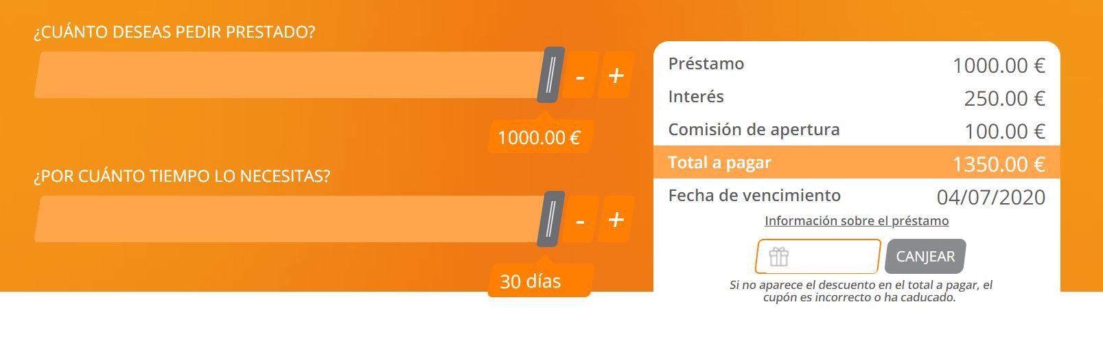 En wallet adviser encontrarás todos los préstamos 1000 del mercado.