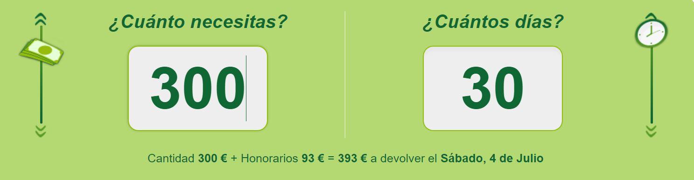 Los pequeños créditos te permiten conseguir 300 euros de forma rápida.