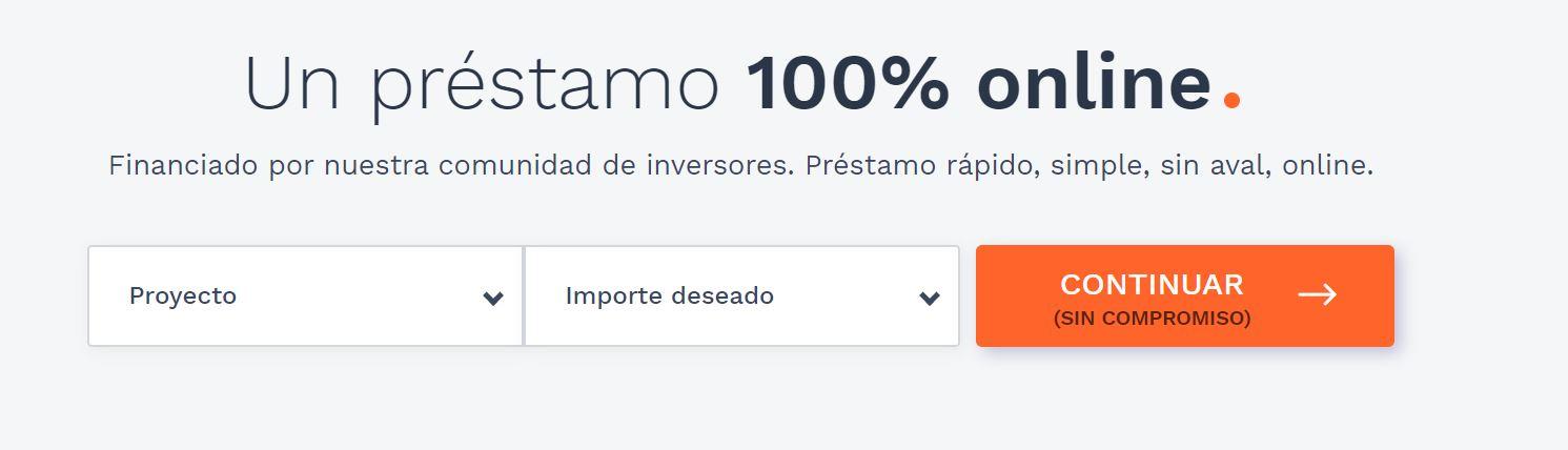 Existen préstamos instantes 100% online.
