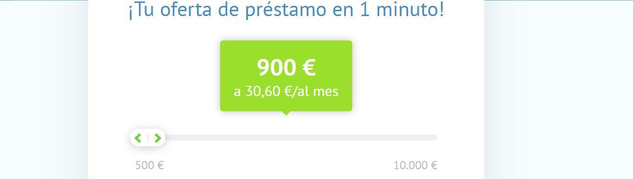 Los préstamos sin papeles suelen ser de 100 a 500 euros de importe.