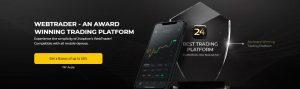 24option cuenta con un sistema de Trading multiplataforma