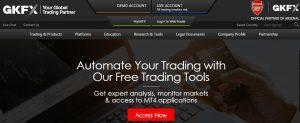 GKFX ofrece numerosos productos financieros