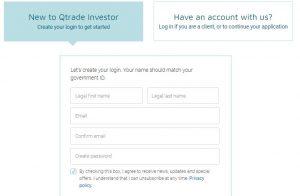 Cómo registrarse en Qtrade