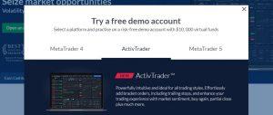Cómo abrir una cuenta demo en ActivTrades para trading