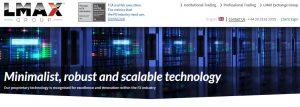 Tecnología y plataforma online de LMAX