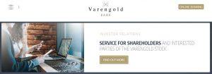 Plataforma de transacciones de Varengold