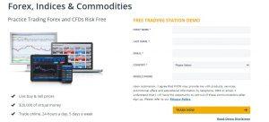 Abrir una cuenta demo para Trading