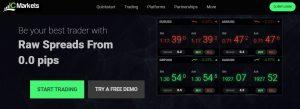 IC Markets cuenta con tarifas bajas